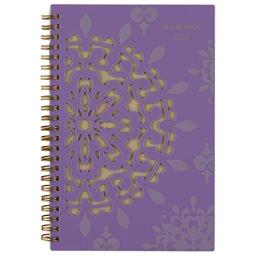 "AT-A-GLANCE 122-200-18 Weekly/Monthly Planner, January 2018 - December 2018, 4-7/8"" x 8"", Vienna, Purple (122-200)"
