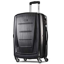 Samsonite Checked-Medium, Brushed Anthracite