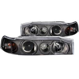 Anzo USA 121048 Honda Accord Projector 1Pc with Halo Black Headlight Assembly - (Sold in Pairs)