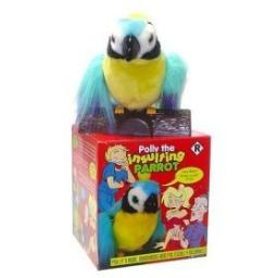 Polly The X-Rated Insulting Parrot Motion Activated