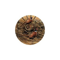 Pheasant Coasters by Rosemary Millette