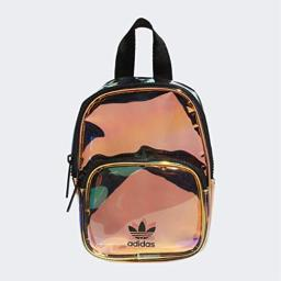 adidas Originals Unisex Mini Iridescent Backpack, Radiant Metallic, ONE SIZE