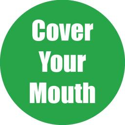 Flipside products cover your mouth green anti-slip