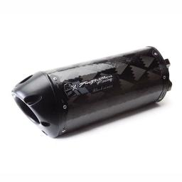 Two Brothers Racing (005-2570107V-B) Black Series M-2 Carbon Fiber Canister Full 005-2570107V-B