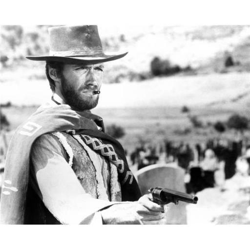 The Good The Bad & The Ugly Clint Eastwood 1966 Photo Print, 14 x 11