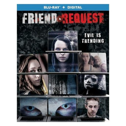 Friend request (blu ray w/digital) (ws/eng/span sub/eng sdh/5.1 dts-hd) RJ9DYEC3AJHO5SVN