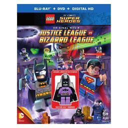 Lego-justice league vs bizarro league (blu-ray/with figurine) BR476119