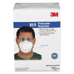Particulate Respirator W/Cool Flow Exhalation Valve 10 Masks Per Box   1 Box of: 10