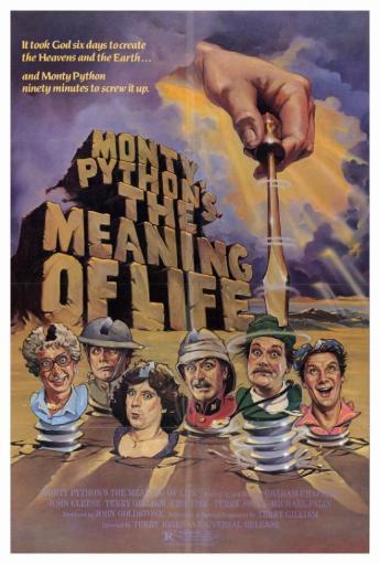 Monty Python's The Meaning of Life Movie Poster Print (27 x 40) QZIBDBAG8FB48MEB