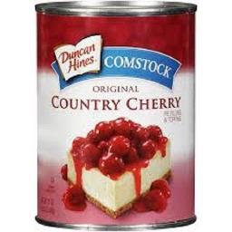 Duncan Hines Comstock Country Cherry Pie Filling & Topping 21oz