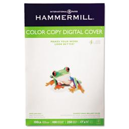 Hammermill 133202 Color Copy Digital Cover  92 Brightness  17 x 11  Photo White  250 Sheets-Pack 133202