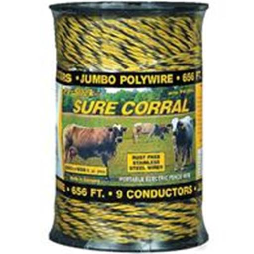 Woodstream Zareba 278244 HD Polywire Portable Electric Fence Wire