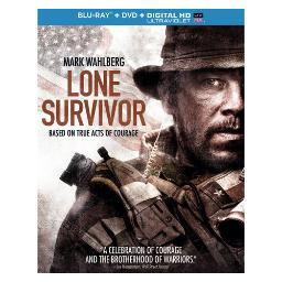 Lone survivor (blu ray/dvd w/digital hd w/ultraviolet combo) (2discs) BR61125456