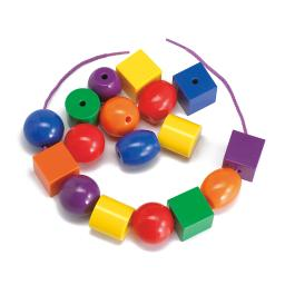 Learning advantage giant lacing beads 40080