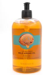 The Body Shop Wild Aragan Oil Shower Gel  25.3 fl oz