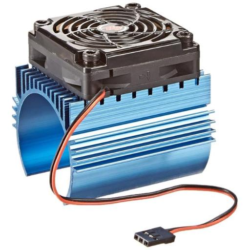 Hobbywing HWI86080130 C4 Cooling Fan & Heat Sink Combo