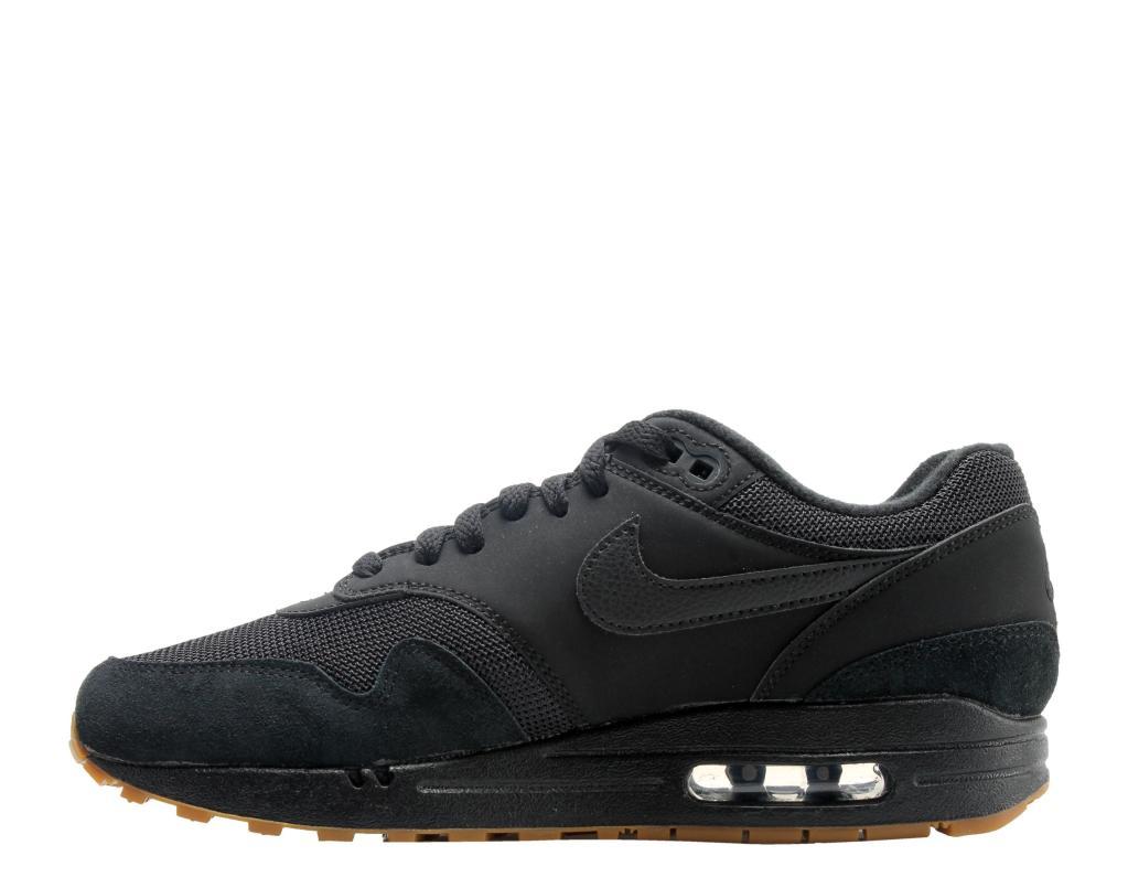 b497a21dd8d1e Nike Nike Air Max 1 Triple Black Gum Men s Running Shoes AH8145-007 ...