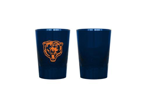 Nfl plastic shot glass chicago bears (2 oz.)(dark blue)-nla TMEEFXJCIIZBNYAR