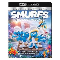 Smurfs-lost village (4kuhd/blu ray/ultraviolet) (2discs) BR48840