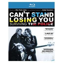 Cant stand losing you-surviving the police (blu ray) BRCLS1203