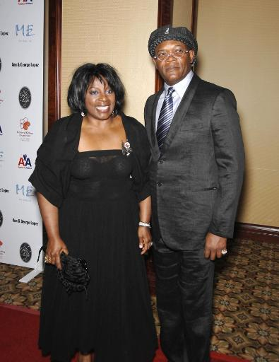 La Tanya Richardson, Samuel L. Jackson At Arrivals For 29Th Annual The Gift Of Life Gala, Century Plaza Hotel, Los Angeles, Ca, May 18, 2008.