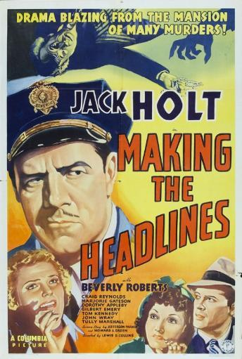 Making the Headlines Movie Poster Print (27 x 40)