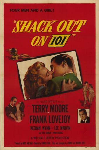 Shack Out on 101 Movie Poster (11 x 17) VYQK2Y1NNLNDTFFH