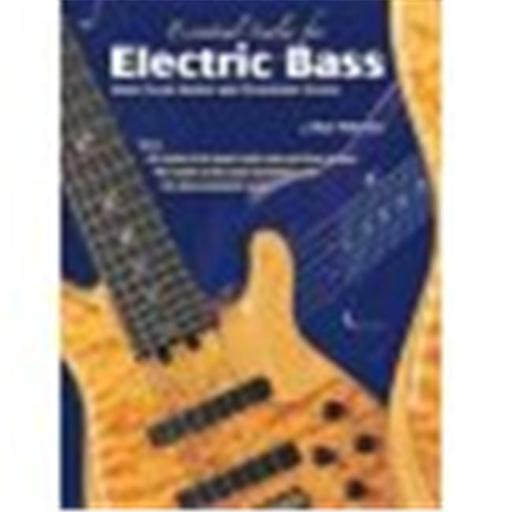Alfred 00-0723B Essential Scales for Electric Bass- Major Scale Modes and Pentatonic Scales - Music Book