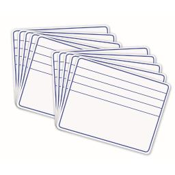 Pacon whiteboard 1 sided lines 10 boards