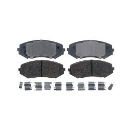 Acdelco gold 17d1188ch ceramic front disc brake pad set