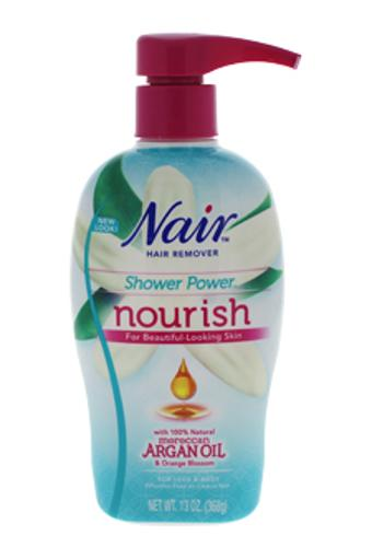 Nair Shower Power Nourish Moroccan Argan Oil & Orange Blossom Nair 13 oz C819C48F221BA89B