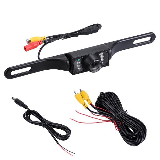 Yescom Car Rear View CMOS Reverse Backup Camera w/ 480TVL Infrared 7 LED Night Vision