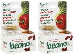 Beano Food Enzyme Tablets 2 Box Pack