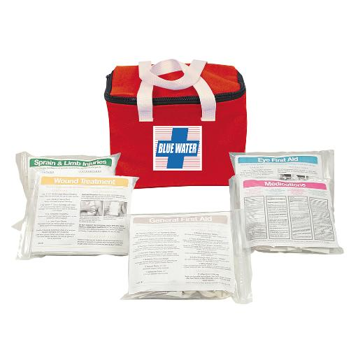 Orion safety products orion blue water first aid kit soft case 841