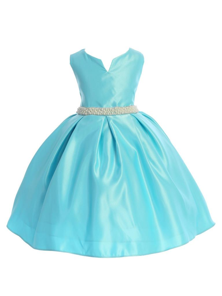 Ellie Kids Ellie Kids Aqua Pearl Rhinestone Satin Junior Bridesmaid Flower Girl Dress 8 14 Massgenie Com,Camo Wedding Dress Orange
