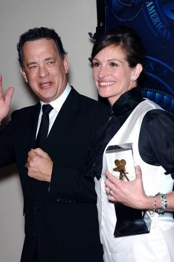 Tom Hanks, Julia Roberts In Attendance For 25Th Annual Asc Outstanding Achievement Awards, Hyatt Regency Century Plaza Hotel, Los Angeles, Ca.