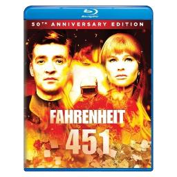 Fahrenheit 451 50th anniversary edition (blu ray) BR61185020