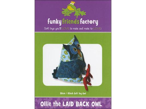 Fff50433 funky friends factory ollie the laid back owl ptrn