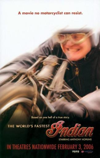 The World's Fastest Indian Movie Poster (11 x 17) MFCVSE4K5GRS1HLA