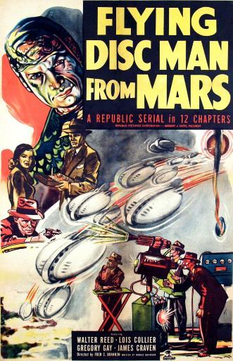 Flying Disc Man From Mars 1950. Movie Poster Masterprint VGNKG3YVSGY2VDTY