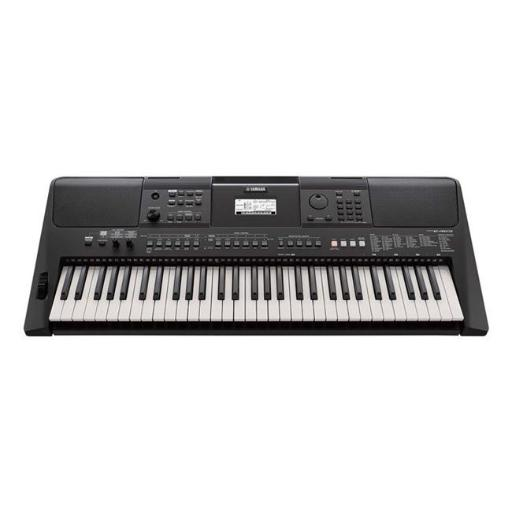 Yamaha PSRE463 61-Key Touch Response Portable Keyboard with Powerful on-Board Speaker