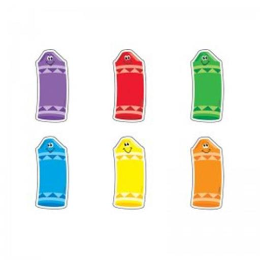 Trend Enterprises T-10811BN Crayons Mini Variety Pack Mini Accents - Pack of 6 NJ6L3GDEHQODXALV