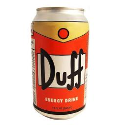 Simpsons Duff Energy Drink
