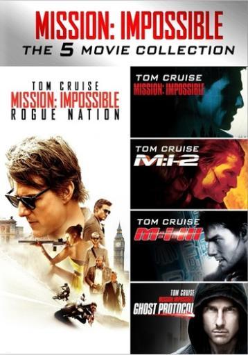 Mission impossible 5-movie collection (dvd) (5discs) 1284568