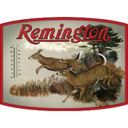 OPEN ROAD BRANDS 90153325 OPEN ROAD BRANDS THERMOMETER TIN SIGN REMINGTON WHITETAIL