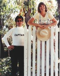 Captain & Tennille in Red Background Red Background Photo Print - from $46.51