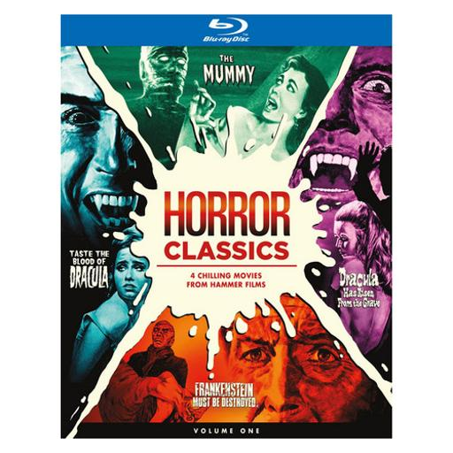 Hammer horror collection (blu-ray/4 disc) 1294700