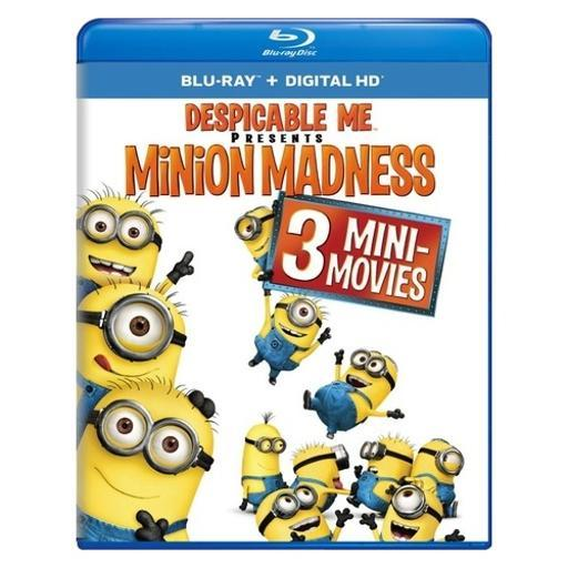 Despicable me presents-minion madness (blu ray w/digital hd) 1285777