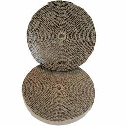Bergan 60105 Brown Bergan Cat Turboscratcher Replacement Pad 2 Pack Brown 10.25 X 10.25 X 3.75