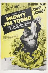 Mighty Joe Young Us Poster Terry Moore Mighty Joe Young 1949 Movie Poster Masterprint EVCMCDMIJOEC026HLARGE